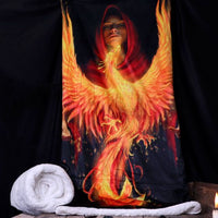 Phoenix Rising Throw - Anne Stokes (AW804)