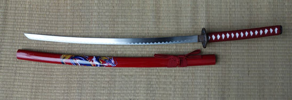 Red Samurai (Blue Dragon) Sword (AW548)