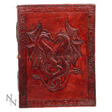 Double Dragon Leather Embossed Journal (AW521)