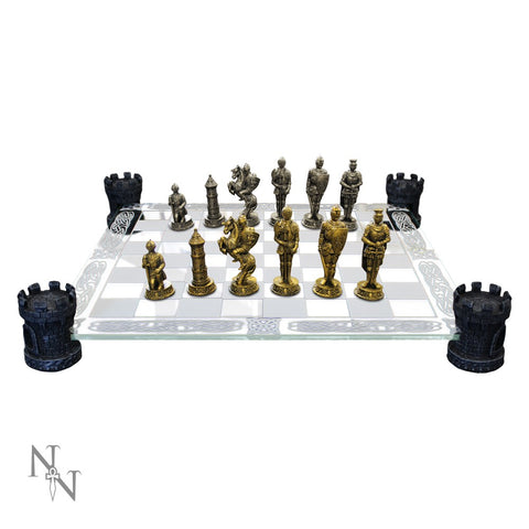 Medieval Knight Chess Set (AW901)