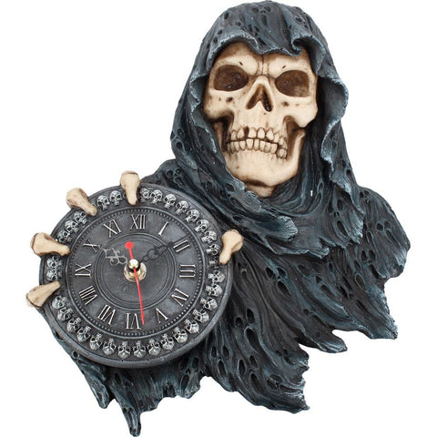 Face of Time (Grim Reaper) Clock (AW848)