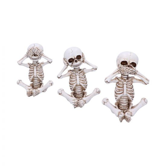 Three Wise Skelly Wags (Set of 3) (AW473)