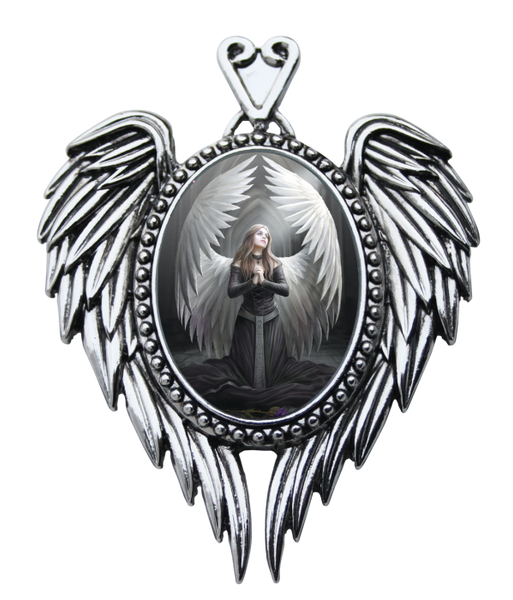 Prayer For The Fallen Pendent - Anne Stokes (AW729)