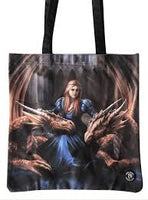 Fierce Loyalty (Anne Stokes) Tote Bag (AW76)