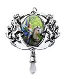 Realm of Enchantment Pendent - Anne Stokes (AW733)