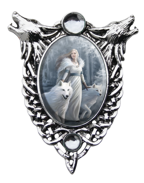 Winter Guardians Pendent - Anne Stokes (AW734)
