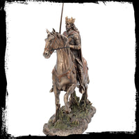 King Arthur On Horseback - Bronze Collection (AW915)