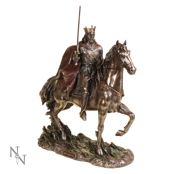 King Arthur On Horseback - Bronze Collection