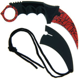 Karambit Spider Knife