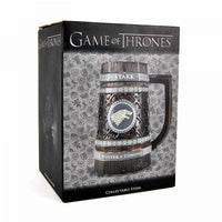 Game of Thrones Embossed Stark Beer Stein