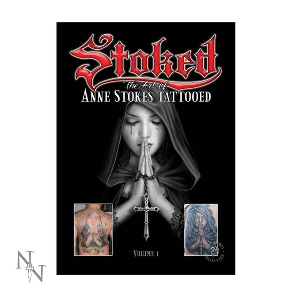 Anne Stokes (SIGNED) Tattoo Book (AW660)