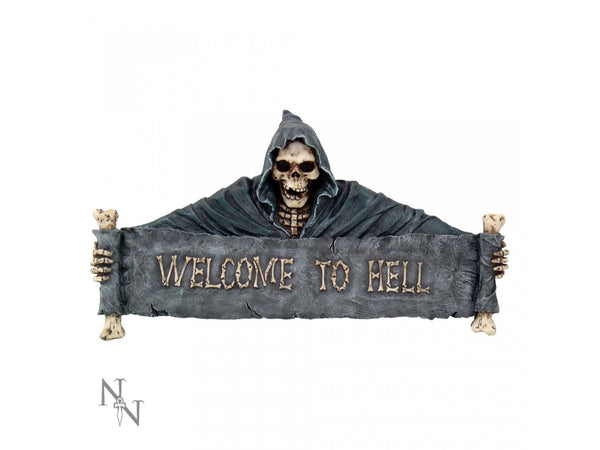 Welcome To Hell Gateway Sign