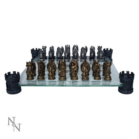 Kingdom of the Dragon Chess Set (AW505)