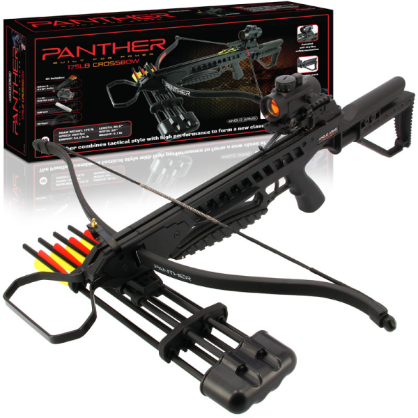 175LB Panther Black Crossbow