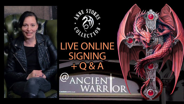 ANNE STOKES ONLINE SIGNING DAY 1ST DECEMBER 2020