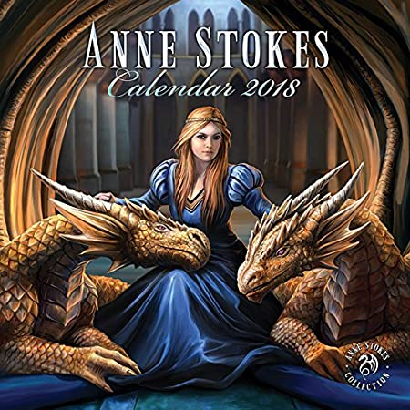 Anne Stokes (SIGNED) 2018 Calendar (AW964)