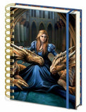 Fierce Loyalty (A5) Notebook - Anne Stokes (AW818)