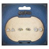 Set of 3 Stud Earrings Harry Potter