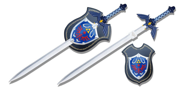Zelda Blue Sword & Shield Set (AW1073)