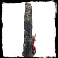 Ruby Stalagmite Dragon Incense Holder (AW546)