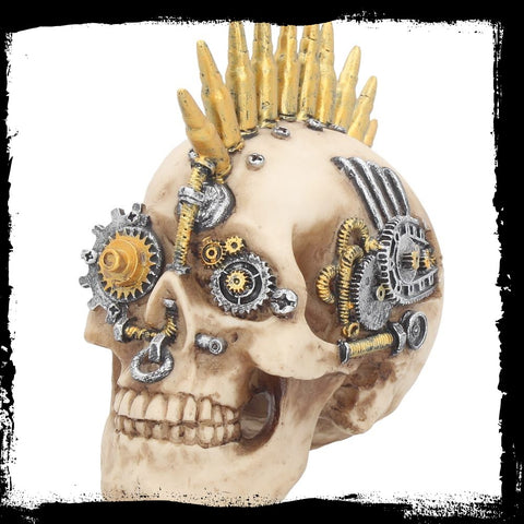 Gears of War (Small) Steampunk Skull (AW654)