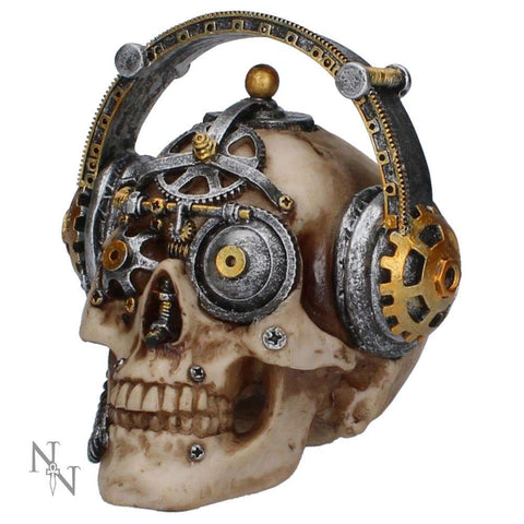 Techno Talk (Small) Steampunk Skull (AW651)