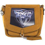 Wolf Trio Side Bag - Anne Stokes (AW1173)