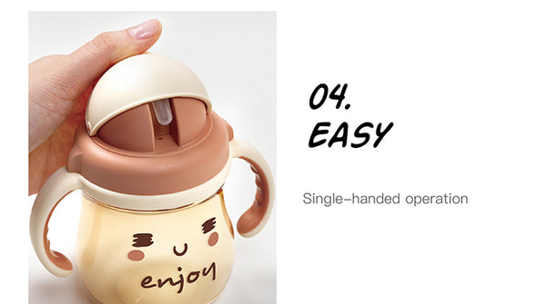 250ml GOOD MOOD PPSU Sippy Cup - SLEEPY