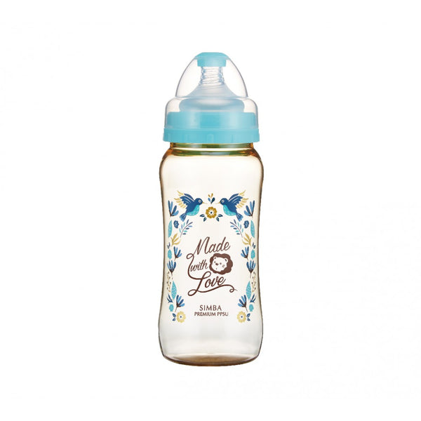 360ml Dorothy Wonderland PPSU Wide Neck Feeding Bottle (Hummerbird)