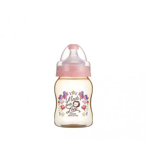 200ml Dorothy Wonderland PPSU Wide Neck Feeding Bottle (Unicorn)