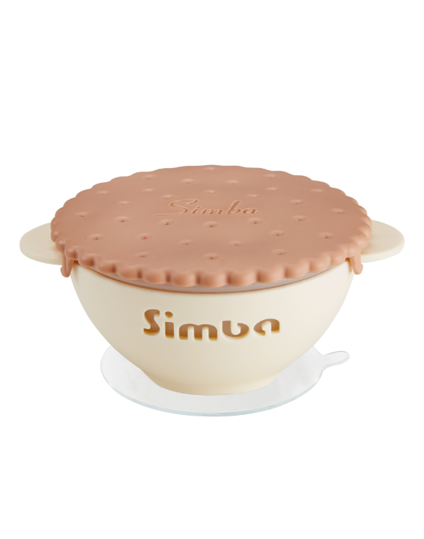Its Yummy Cookie Silicone Suction Bowl - Caramel