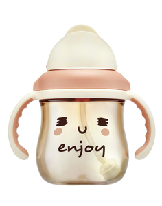 250ml GOOD MOOD PPSU Sippy Cup - ENJOY