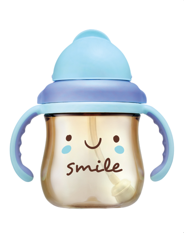 250ml GOOD MOOD PPSU Sippy Cup - SMILE