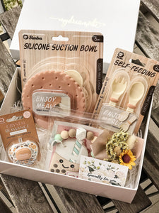 [Bundle] : MDV Paper Gift Box + Baby Newborn Gift Set C6