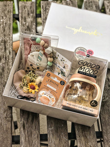 [Bundle] : MDV Paper Gift Box + Baby Newborn Gift Set C2