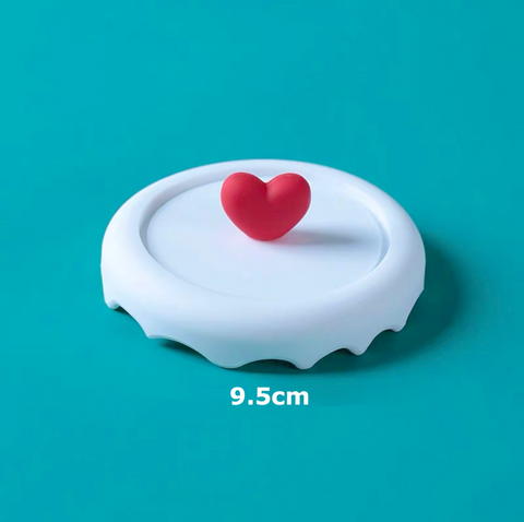 Heart shape silicon cover