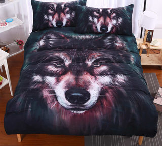 wolf bedding sets