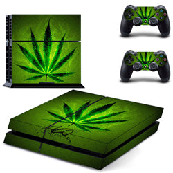 Weed Sticker For PS4