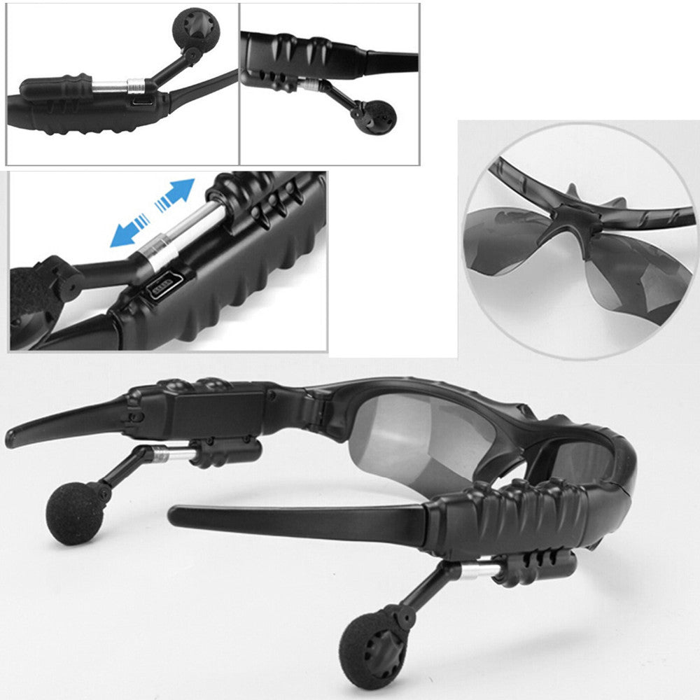 Bluetooth Wireless Sunglasses Earphone Stereo Music