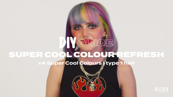 DIY Guide: Rainbow Hair Refresh