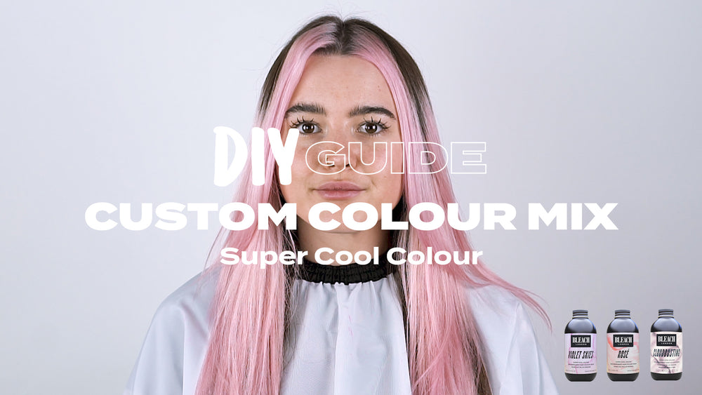 DIY Guide: Custom Colour Mix using Super Cool Colour