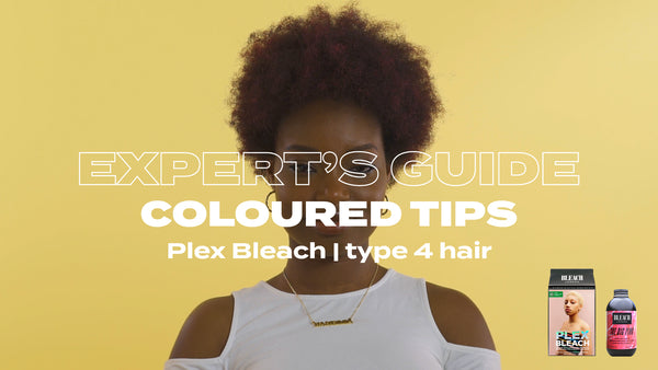 Expert's Guide: Coloured Tips with Plex Bleach & Super Cool Colour