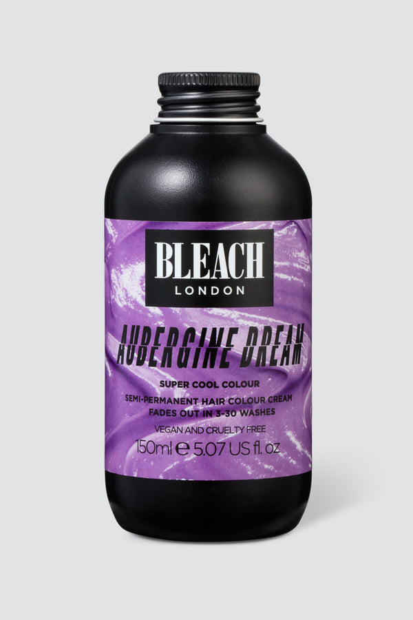 Aubergine Dream Super Cool Colour | Bleach London