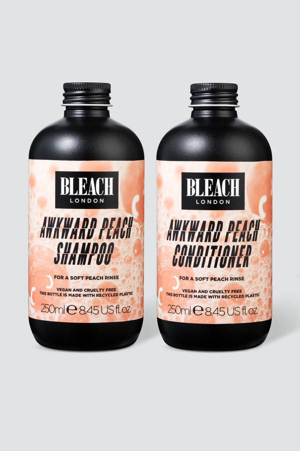 Awkward Peach Toning Shampoo & Conditioner Duo