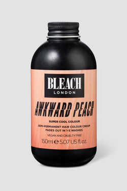 Awkward Peach Super Cool Colour | Bleach London.