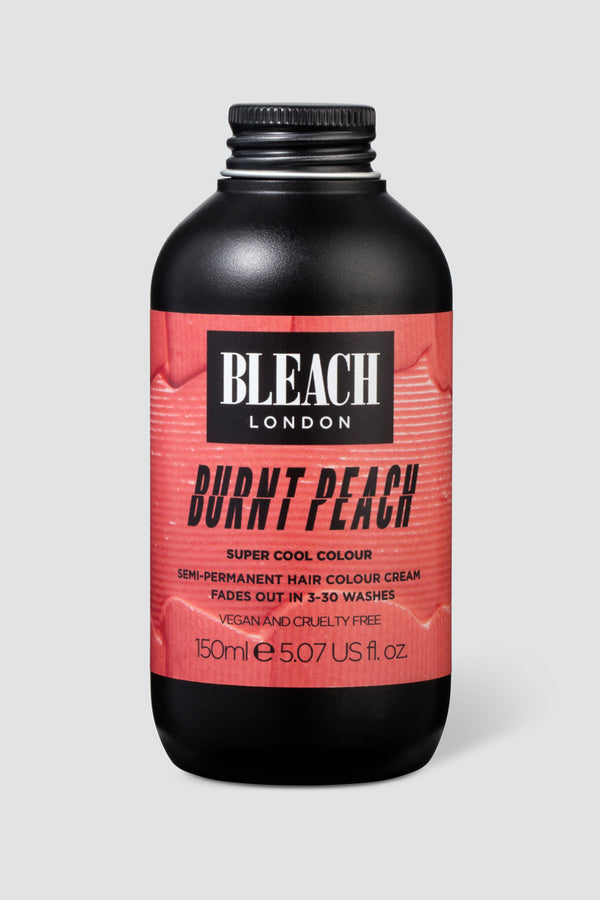 Burnt Peach Super Cool Colour | Bleach London