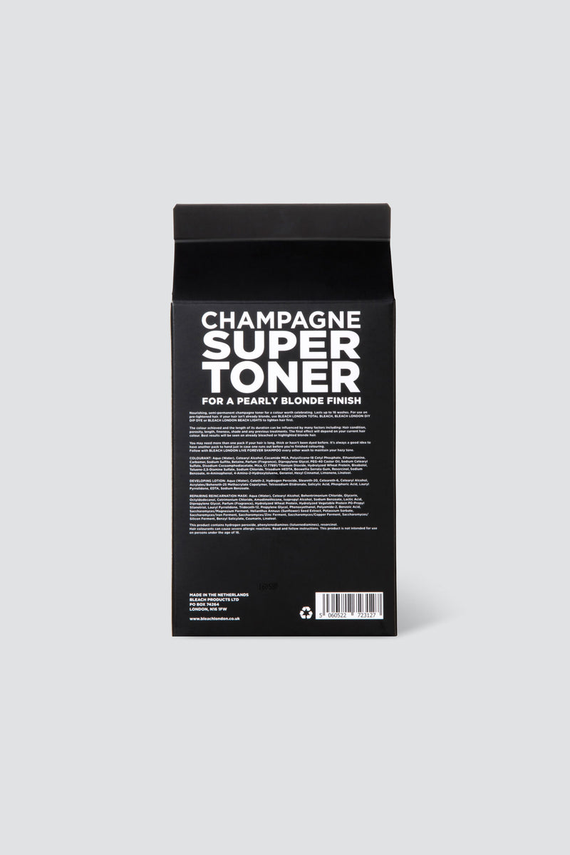 Champagne Super Toner Kit | Bleach London
