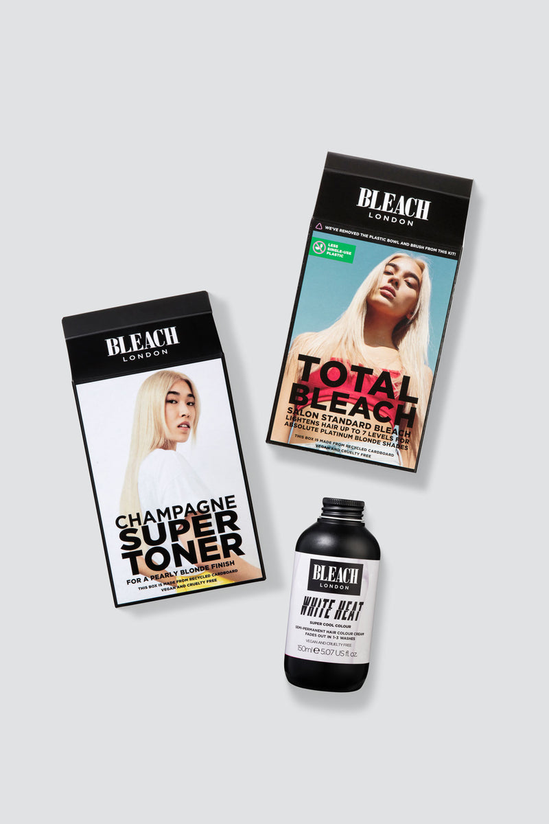 Clean Blonde Total Bleach Duo | Basic Bundle