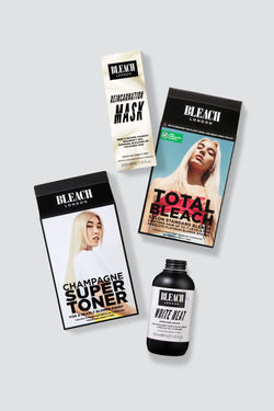 Clean Blonde with Total Bleach | Care Bundle