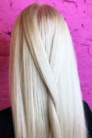 Clean Blonde with Plex Bleach | Basic Bundle